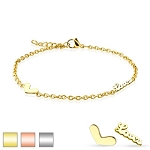 Heart and Love U Charmed Bracelet/Anklet