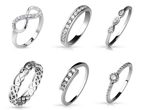 Bling Rings (Non-Stainless Steel)