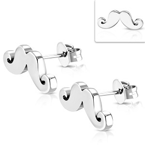 MOVEMBER Mustache Earrings