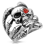 Clawed Skull Red Eye