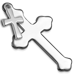 Crosses Pendant (Engravable)