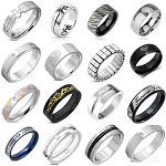 LIMITED EDITION STAINLESS STEEL RINGS